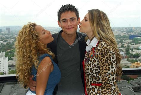 Adrienne Bailon With Golan Yosef And Belinda Peregrin At