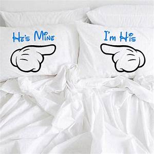 he39s mine i39m his pillowcases gay couple by creativepillowlv With wedding gifts for gay couples