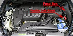 Fuse Box Diagram Nissan Altima  L32  2007