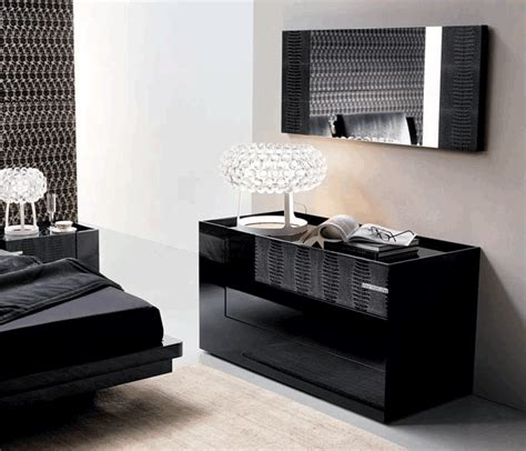 rossetto diamond black bedroom set kobos furniture