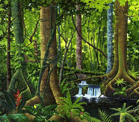 osa peninsula rainforest painting welcome to paradise