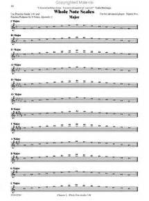 Flute Scale Sheet Music