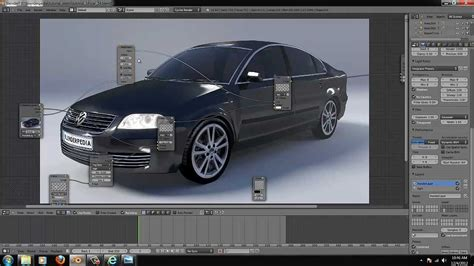 Create A Car In Blender With Cycles
