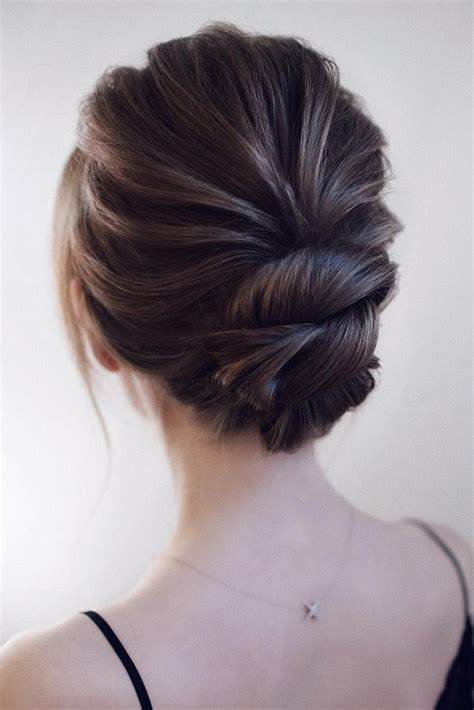 Hairstyles Updo by 15 Stunning Low Bun Updo Wedding Hairstyles From