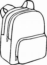 Backpack Coloring Pages Bag Backpacks Bags Drawing Printable Template Bookbag Sketch Getdrawings Books Open Getcoloringpages Tags Getcolorings Again Bar Looking sketch template