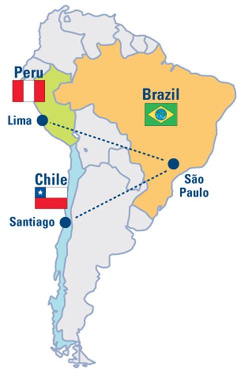 bargain shopping  peru chile  brazil  global