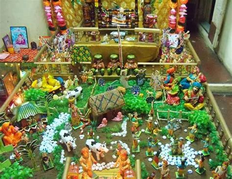 decoration ideas  krishna janmashtami kanha