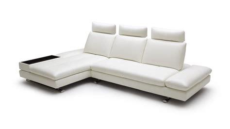 canapé convertible meridienne canape d 39 angle en cuir contemporain minho mobilier moss