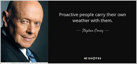 stephen covey quote proactive people carry