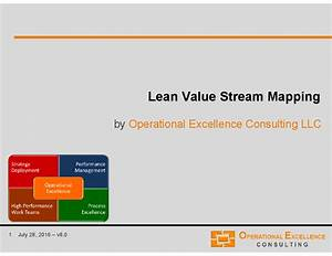 smed template - lean value stream mapping vsm powerpoint
