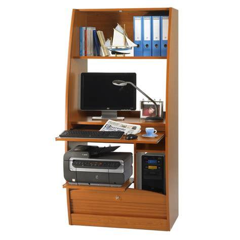meuble cuisine wengé armoire informatique galbée largeur 80 cm beaux meubles
