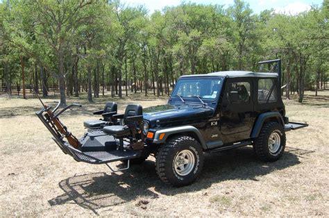 hunting jeep for sale black quail seat jeep twilight metalworks custom