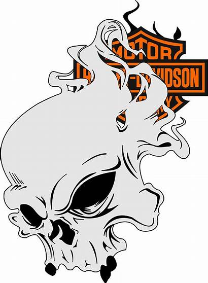 Harley Davidson Motorcycle Stencils Airbrush Decals Sportster