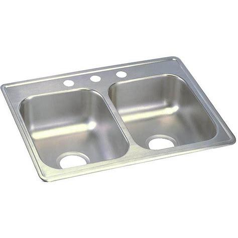 dayton kitchen sink elkay dayton drop in stainless steel 25 in 4 3106