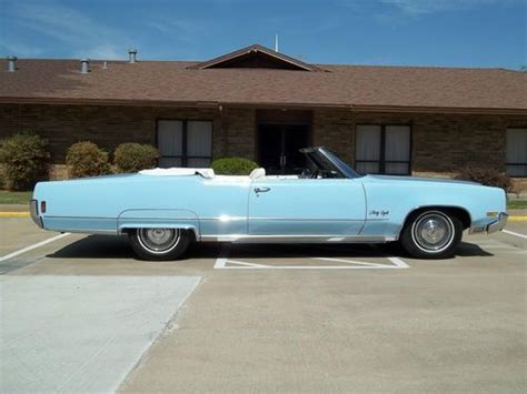Sell Used 1970 Oldsmobile 98 Convertible 23k Miles, All