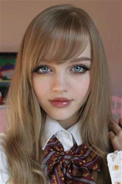 real life doll    anime hairstyles  real life dakota rose real barbie