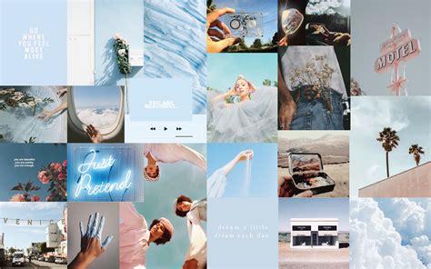 baby blue wallpaper macbook air 13 aesthetic