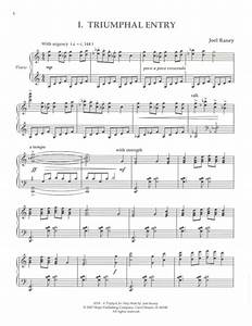 Sheet music: A Triptych for Holy Week (Piano solo)
