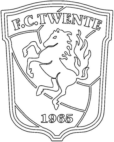 Fc Twente Kleurplatennl by Eredivisie Logo Kleurplaten Fc Twente
