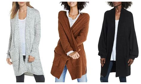 Long Sweaters Cardigans