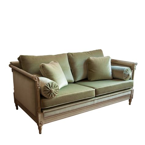 canapé lit de repos charret style directoire directoire