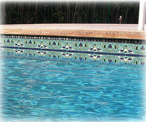 waterline pool tile ideas pool design pool ideas