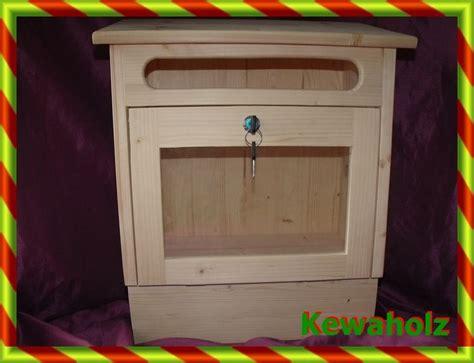 Postkasten Holz ,Briefkasten ,Holzbriefkasten, von
