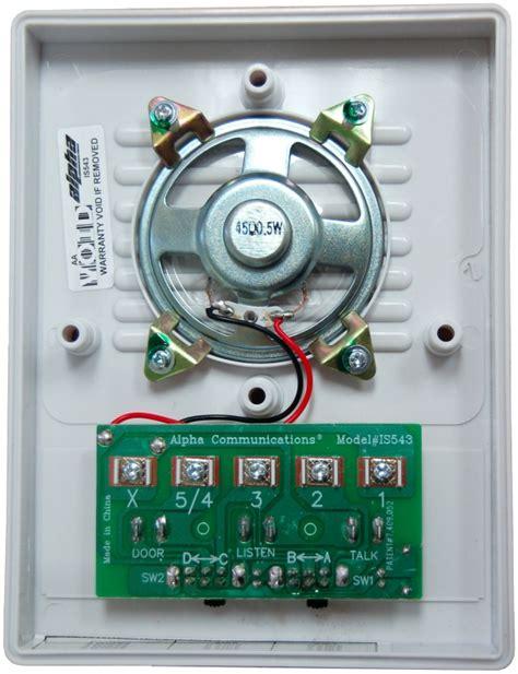 alpha communications  universal intercom station