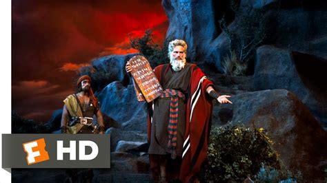 ten commandments   clip moses presents