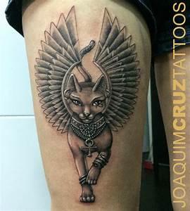 bastet+coxa+bastet+leg++tattoo+power+estudios+lojas+de ...