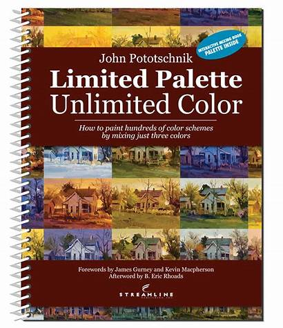 Palette Limited Unlimited Pototschnik John Painting Books