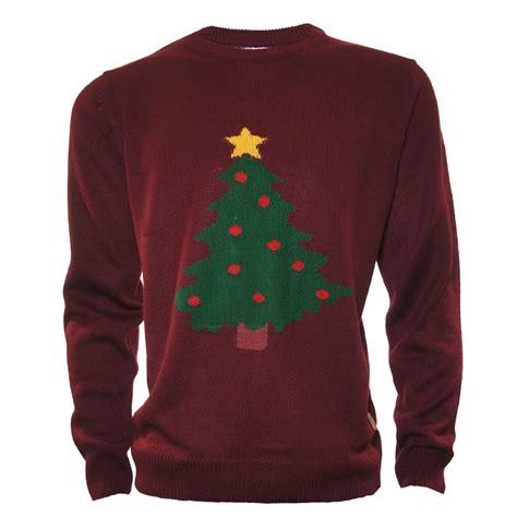 buy patterned christmas tree jumper jon barrie