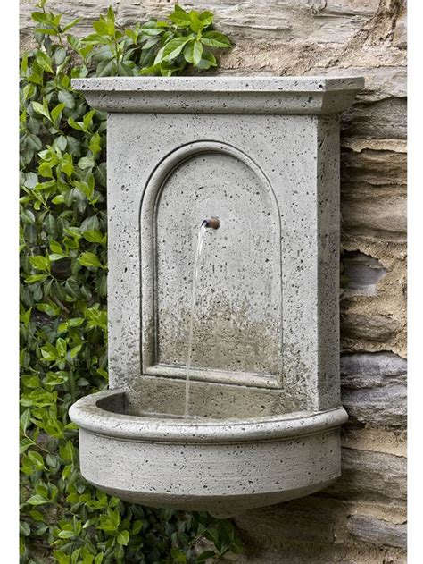 outdoor hanging water fountains 17 best images about wall fountain on pinterest wall mount garden fountains and patio