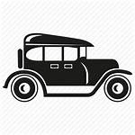 Classic Icon Retro Automobile Vehicle Icons Transport