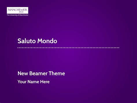 Of Manchester Powerpoint Template by Amundy New Introduction To The Unofficial