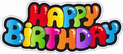 Birthday Happy Banner Template Transparent Clip Gift