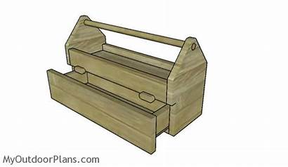 Tool Plans Wood Box Drawer Caddy Wooden