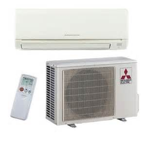 Mitsubishi - 30k BTU Cooling + Heating - M-Series Wall Mounted Air Conditioning System - 14.5 SEER