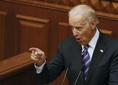 biden joe muslim ban chances donald joseph jr president trump vice parliament presidential disparages political addressing kiev ukrainian tuesday