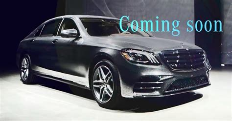 S Class Facelift 2018 by 2018 W222 Mercedes S Class Facelift Teased In New