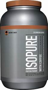 Isopure Protein Powder With Coffee By Nature U0026 39 S Best At Bodybuilding Com