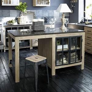 Table De Cuisine Maison Du Monde : meuble de cuisine maison du monde ~ Teatrodelosmanantiales.com Idées de Décoration