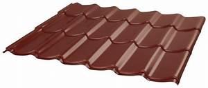 Tole De Bardage Castorama : t le en acier galvanis rouge l 300 cm l 110 cm brico d p t ~ Dailycaller-alerts.com Idées de Décoration