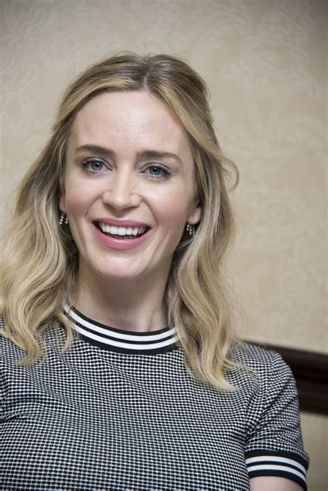 """Emily olivia leah blunt (born 23 february 1983) is a british actress. Emily Blunt - """"A Quiet Place"""" Press Conference in Austin • CelebMafia"""