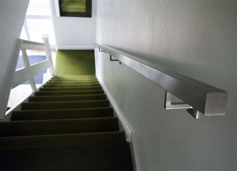 Buy Banister by Brushed Stainless Steel Metal Banister Stair Handrail Pre