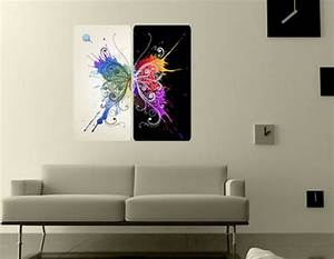 modern wall paintings living room With modern wall art