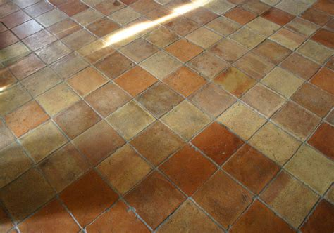 Antique Terracotta Tile Floor Houses Flooring Picture