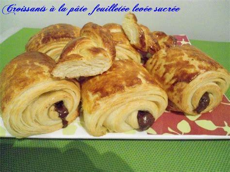recette croissant avec pate feuillete pains au chocolat 224 la p 226 te feuillet 233 e lev 233 e sucr 233 e chhiwateskhadija