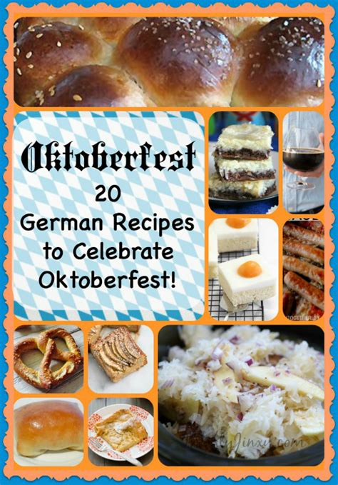 Celebrate Autumn Dinner by 20 Oktoberfest Recipes German Recipes To Celebrate Autumn