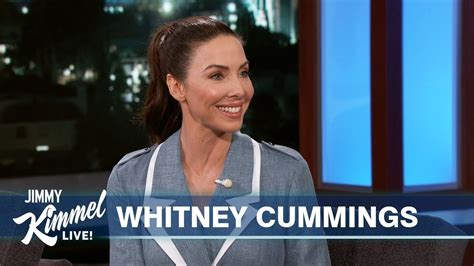whitney cummings on her sex robot meeting celebrities and her new fiancé youtube
